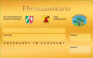 Ehrenamtskarte der Stadt Lüdinghausen