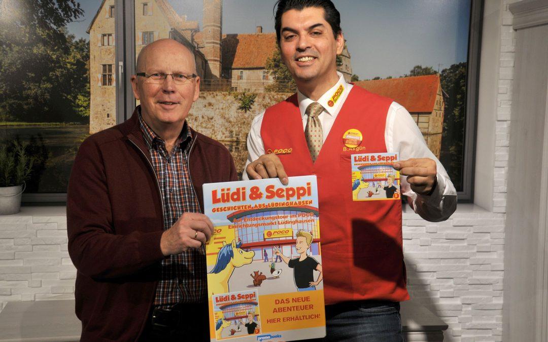 """Bürgerstiftung Lüdinghausen stellt neue Ausgabe von """"Lüdi & Seppi"""" vor"""